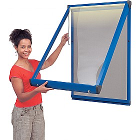 Illuminated Shield Coloured Frame Showcases £298 -
