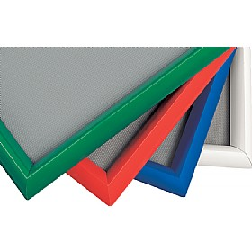 Freestanding Coloured Frame Shield Noticeboard