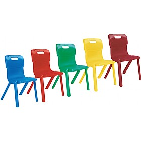 Titan One Piece Classroom Chairs £0 -