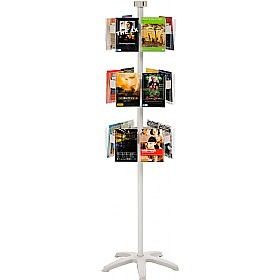 Freestanding Literature Carousel 18 x A5 Pockets £181 -