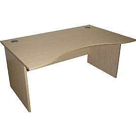 Modus Commercial Panel End Double Wave Desks £196 -