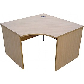 Modus Commercial  Panel End Radial Link Desk £239 -