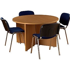 Bundle Deal - Round Meeting Table With 4 Chairs £0 -