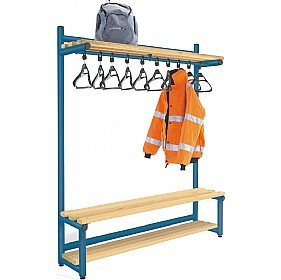 Hanging Cloakroom Hook Benches £0 -
