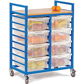 Fruit Trolley With Deep Trays £0 -