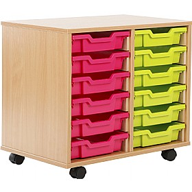 12 Tray Shallow Storage Brights £0 -