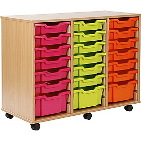 24 Tray Shallow Storage Brights £0 -