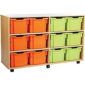 12 Tray Extra Deep Storage Brights £0 -