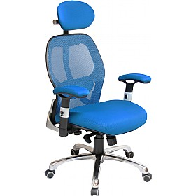 Ergo-Tek Blue Mesh Manager Chair £146 -
