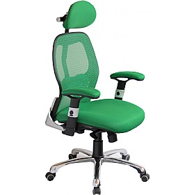 Ergo-Tek Green Mesh Manager Chair £146 -