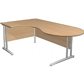NEXT DAY Gravity Standard Ergonomic Conference Cantilever Desk £333 -