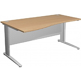 NEXT DAY Gravity Deluxe Wave Cantilever Desk