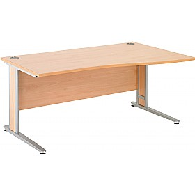 NEXT DAY Gravity Deluxe Wave Cantilever Desk £231 -