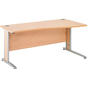 NEXT DAY Gravity Deluxe Shallow Wave Cantilever Desk
