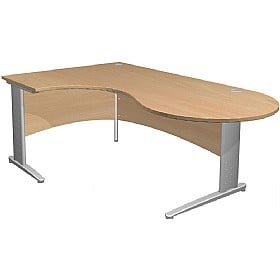 NEXT DAY Gravity Executive Ergonomic Conference Cantilever Desk
