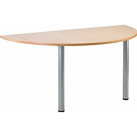 NEXT DAY Gravity Arc Meeting Table Round Legs £121 -