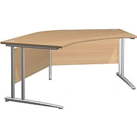 NEXT DAY Gravity Standard Delta Cantilever Desk £293 -