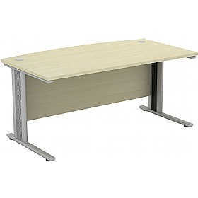Accolade Bow Fronted Rectangular Desks £339 -