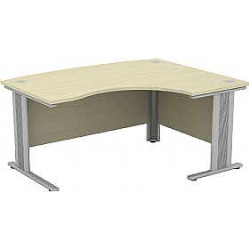 Accolade Bow Fronted Ergonomic Desks £441 -