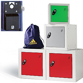 Cube Coin Retain Lockers With ActiveCoat £0 -