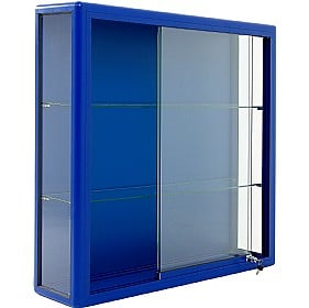 Wall Mounted Glass Display Cabinet with Sliding Door £727 -