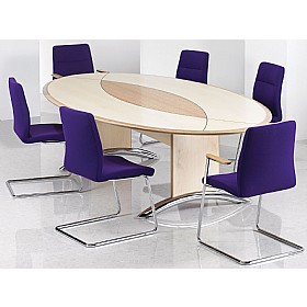 Sven Fulcrum F3A Cantilever Boardroom Chairs