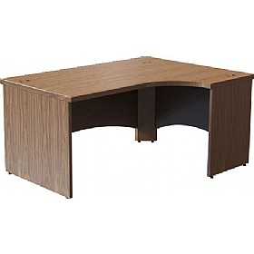 Sven Fulcrum Accent Real Wood Veneer Ergonomic Desks £1484 - Office Desks