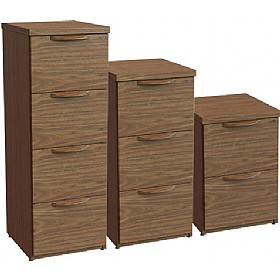 Sven Fulcrum Accent Real Wood Veneer Filing Cabinets