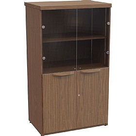 Sven Fulcrum Accent Real Wood Veneer Glass Combination Unit £1570 -