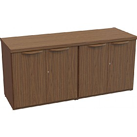 Sven Fulcrum Accent Real Wood Veneer 4 Door Credenza £1869 -