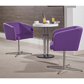 Hello Cross Base Reception Chairs
