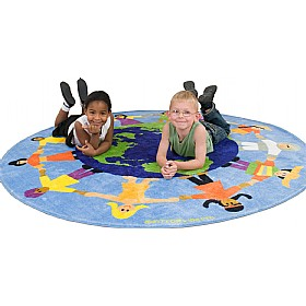 World Multicultural Carpet £0 -