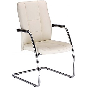Invitus Leather Faced Visitor Chair £217 -