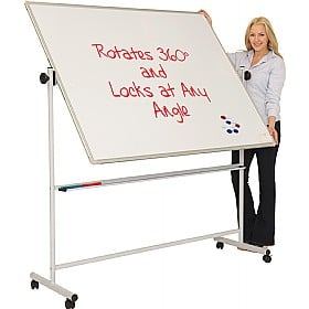 Ultralon Mobile Magnetic Swivel Teaching Whiteboards £164 -