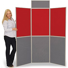 6 Panel Fold-Up Display Screen £215 -