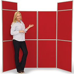 8 Panel Fold-Up Display Screen £265 -