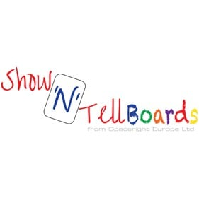 Show N Tell Flexible Laptop Drywipe Whiteboards - Class Packs