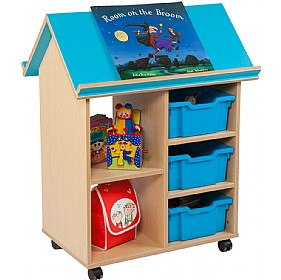 Bubblegum Book House With Trays £0 -
