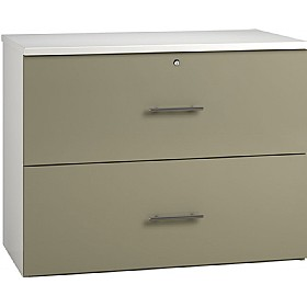 Reflections Stone Grey Side Filing Cabinets £316 -