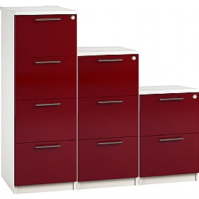 Reflections Burgundy Filing Cabinets £228 -