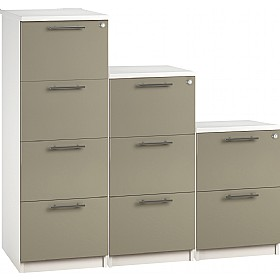 Reflections Stone Grey Filing Cabinets £228 -