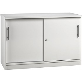 Reflections White Credenza Sliding Door Cupboards £341 -