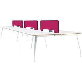DNA Sexto Rectangular Bench Desks £3214 -