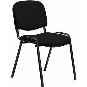Swift Black Frame Conference Chairs (4 Pack)