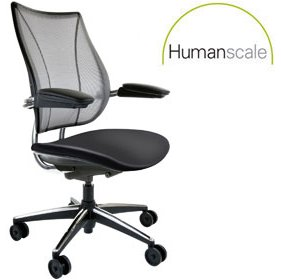 Humanscale Liberty Leather Task Chair £625 -