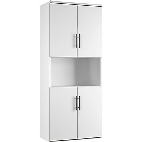 NEXT DAY Reflections Twin Double Door Combination Cupboards £406 -