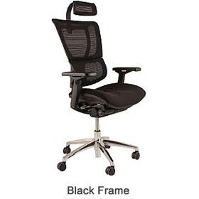 Strange Mirus Ergonomic Mesh Office Chair With Headrest Home Interior And Landscaping Ologienasavecom