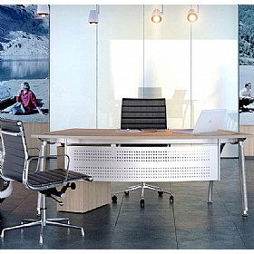 Elite Callisto A-Frame Radius Reception Desks