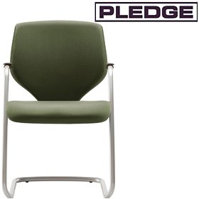 Pledge Quintessential Stackable Cantilever Visitor Chair £175 -