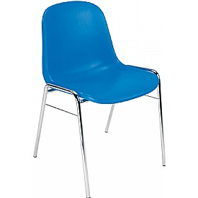 Beta Polypropylene Canteen Chairs (Pack of 4) £35 -